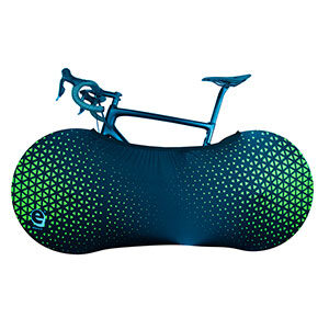 Fluo yellow cover bike