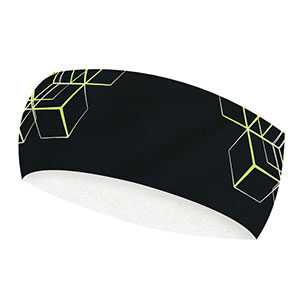 geometrical fluo headband